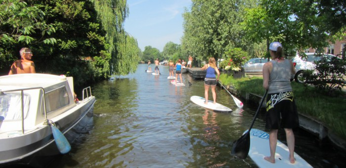 suppers achterplas boot